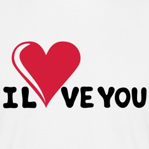 I LOVE YOU - Romance - Valentine's Day - Heart - Gift T-Shirts - Men's T-Shirt