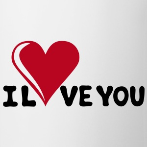 I LOVE YOU - Romantiek - Valentijnsdag - Hart - cadeau Mokken - Mok