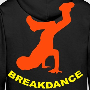 sweatshirt breakdance design - Sweat-shirt à capuche Premium pour hommes