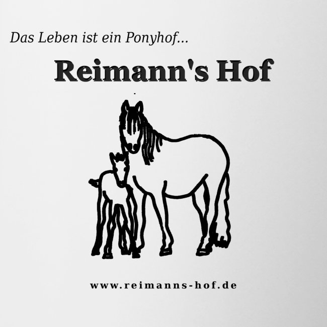 Tasse Reimanns Hof 'Stute mit Fohlen'