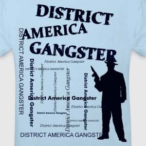district america gangster Shirts - Kinderen Bio-T-shirt