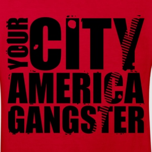 your city america gangster Shirts - Kinderen Bio-T-shirt