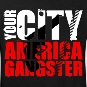 your city america gangster T-shirts - Ekologisk T-shirt barn