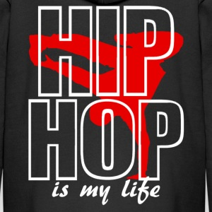 hip hop is my life Hoodies - Kids' Premium Zip Hoodie