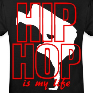 T shirt enfant hip hop is my life - T-shirt Bio Enfant