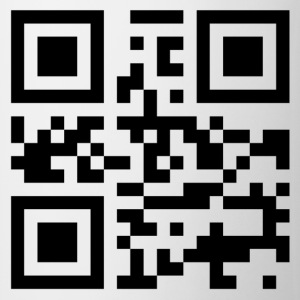 QR code I love you - Mugg
