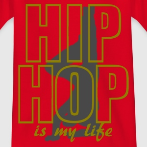 hip hop is my life T-shirts - Teenager-T-shirt