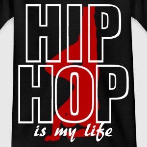 hip hop is my life Skjorter - T-skjorte for tenåringer