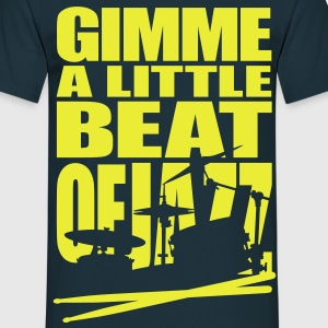 Jazz beat - Mannen T-shirt