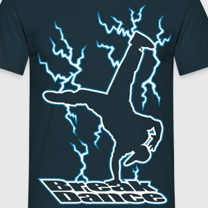 Electric Breakdance - Mannen T-shirt