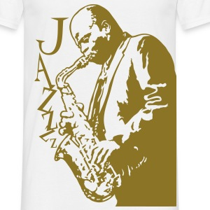 jazz - Mannen T-shirt