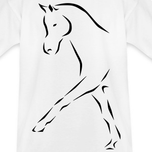 Dressage horse Kids' Shirts - Teenage T-shirt
