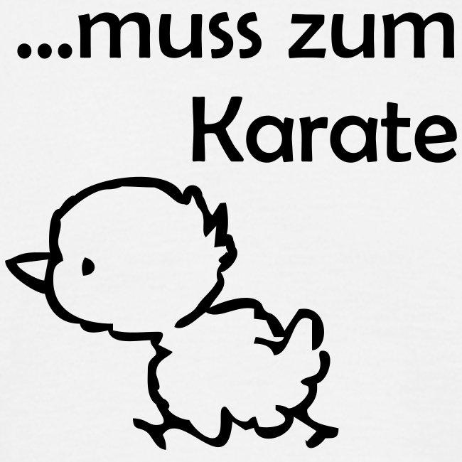 Muss zum Karate