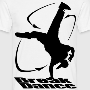 Breakdance moves noir - T-shirt Homme