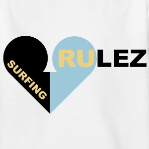surfing rulez - Teenager T-Shirt