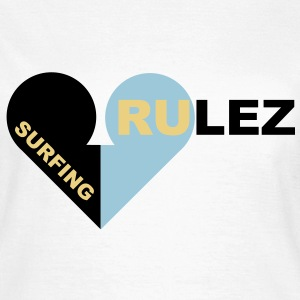 surfing rulez - Frauen T-Shirt