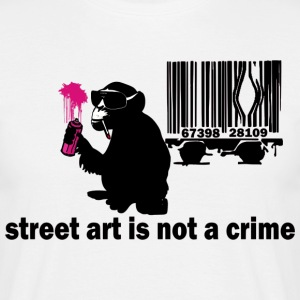 graffiti monkey T-Shirts - Männer T-Shirt