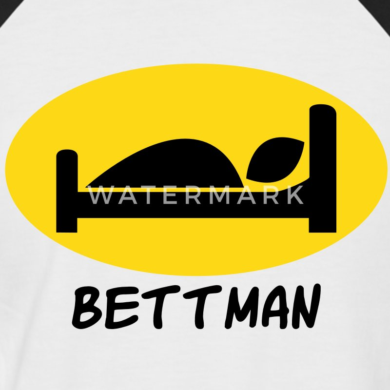 Bettman T-Shirts - Männer Baseball-T-Shirt