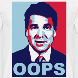 Rick Perry Oops - T-skjorte for menn
