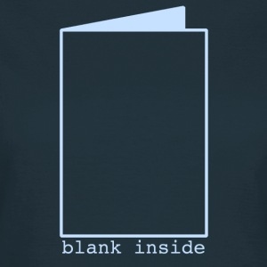 Blank Inside Blue T-Shirts - Women's T-Shirt