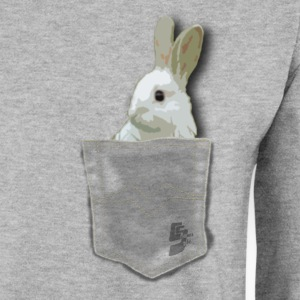 pocket rabit by customstyle Sweat-shirts - Sweat-shirt Homme