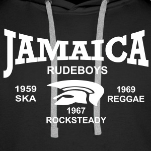 jamaica trojan rudeboys Sweat-shirts - Sweat-shirt à capuche Premium pour hommes