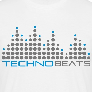 techno_beat_01 T-Shirts - Men's T-Shirt