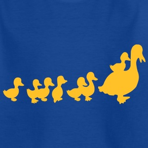 t-shirt enfants canards - T-shirt Ado