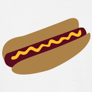 Hot dog T-Shirts - Männer T-Shirt