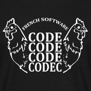 French software code code code codec - T-shirt Homme