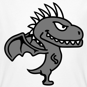 dragon T-shirts - Mannen Bio-T-shirt
