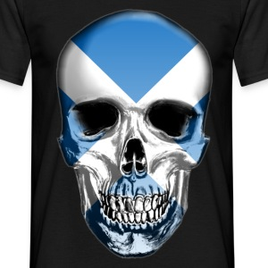 Scotland Skull - Men's T-Shirt