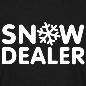 Snow Dealer T-Shirts - Mannen T-shirt