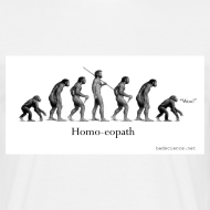 Design ~ Homo-eopath T-Shirt by Twm Davies