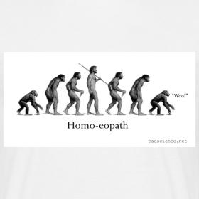 Design ~ Homo-eopath T-Shirt by Twm Davies
