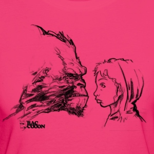 Gorilla Girl H T-Shirts - Frauen Bio-T-Shirt
