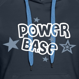 Power Base - Frauen Premium Hoodie