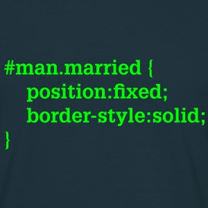 Groom - husband - CSS - HTML T-Shirts - Men's T-Shirt