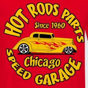hot_rod_parts_design_5 Tee shirts - T-shirt Homme