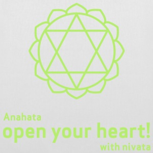 open your heart! - Stoffbeutel