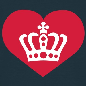 Love King / Queen | Liebe König | Königin T-Shirts - Maglietta da uomo
