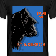 Motif ~ Save Gorille homme noir