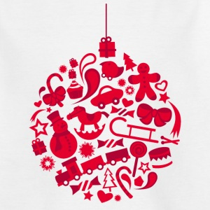 red xmas ball - Teenager T-Shirt