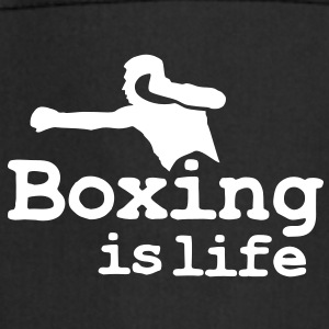 Boxing is life with boxer  Aprons - Cooking Apron