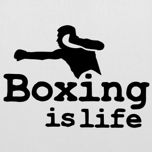 Boxing is life with boxer Väskor - Tygväska