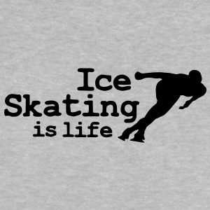 Ice skating is life with speed skater Baby Shirts  - Baby T-Shirt