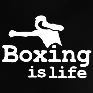 Boxing is life with boxer Babytröjor - Baby-T-shirt