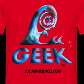 Motif ~ Geekwave homme rouge-bleu