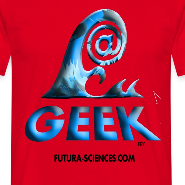 Geekwave homme rouge-bleu