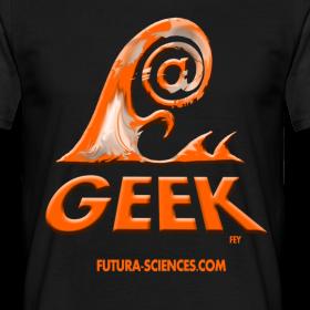 Motif ~ Geekwave homme noir-orange